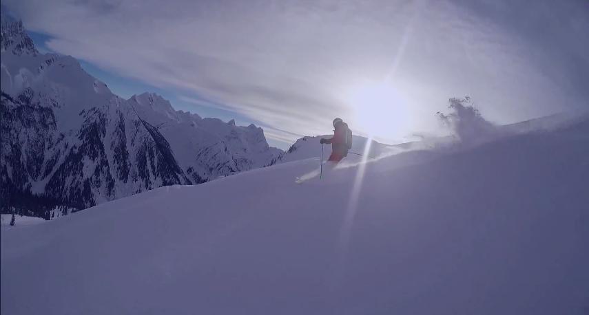 Fabrice Skiing 2